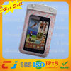2014 mobile phone bag waterproof with shoulder strap on beach for samsung galaxy note