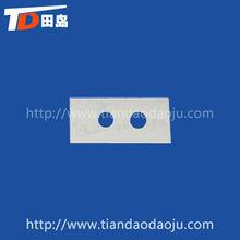 high qulity steel double edge blade