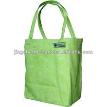 Green BAGGU nylon ladies handbag foldable shopping bag