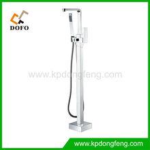02016 New Design Brass free standing ourdoor Copper Bathtub Faucet Mixer