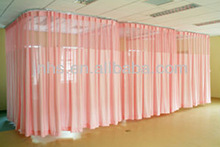 Fire Retardant/Anti-microbial Medical Curtain for Hospital/Clinic Ward