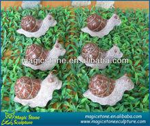 wholesale carved stone snail sculptures
