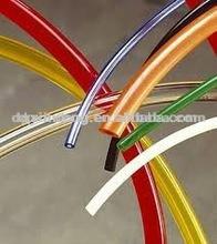 flexible pvc yellow/blue/black/red pipe