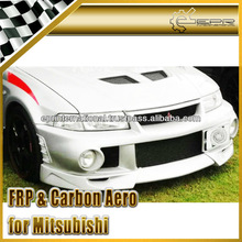 For Mitsubishi Lancer Evolution EVO 6 Limited Edition Extreme Style 3Pcs Front Bumper Lip