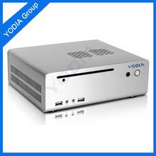 2013 New design !! High quality Silver Mini ITX Case/mini case for computer/Mini Computer Case