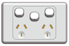 SAA wall socket free samples australian powerpoints GPO