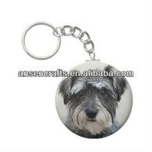 Custom Made Metal Animal Keychains Souvenir Key Chain with key chain ring