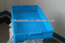 OEM Food grade HDPE plastic crate for peach