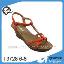 Neuesten europäischen mode-designs neues modell sandalen sexy sandalen für frauen großhandel schuhe china