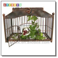 Durable metal bird cage