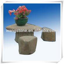 Sculpté à la main pierre naturelle salon de jardin déco sculpture