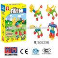 cogo bloques juegos de los niños de la construcción de juguetes de plástico abs juguetes de ladrillo