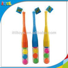 A524973 Sport Toys 24 Inches Baseball Plastic Colorful Baseball Bat