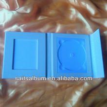 6 cd box case 5 DVD storage of photo cover 4,3,2,1 cd bag