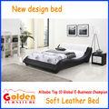 El más nuevo diseño de cuero suave cama mueblesdeldormitorio precios baratos en venta( g967)