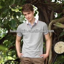 wholesale high quality fashion style 100% cotton polo tshirts for mens