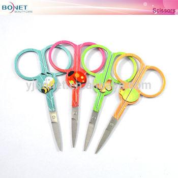 BSC0029 Animal Pattern Stainless Steel Manicure Scissors
