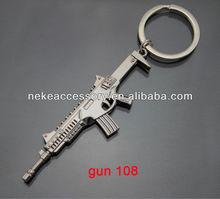 2013 newest CS game gun shaped metal key chain