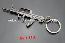 2013 newest CS game gun shaped metal key ring