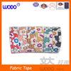 Fabric tape decorative,decorate printed adhesive tape