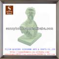 resina branca romana famosa escultura do busto