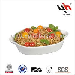 Factory Direct Wholesale Porcelain Microwave Plate