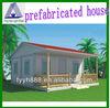 cheap modern prefab villa/beach resort villa house