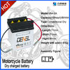 6N4B-2A-5 6V 4Ah Moped Motorcycle Scooter Battery for motorcycle parts used
