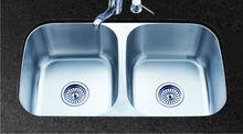 undermount double bowl kitchen sink -HQ-9261