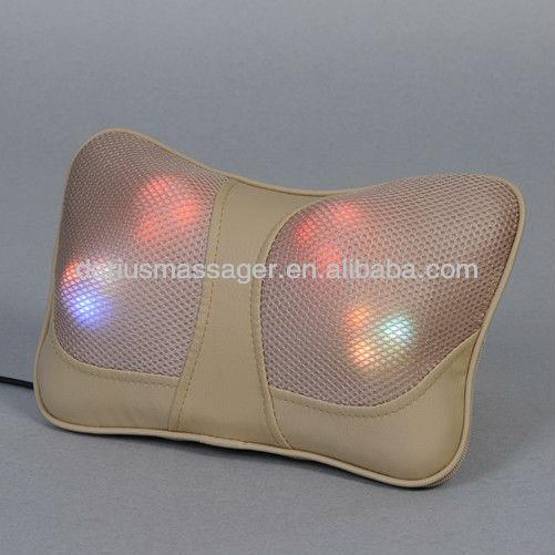 shiatsu infrared massage cushion,neck massage pillow