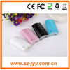 colorful good quality universal power bank for smartphone