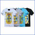 Personnalisé hommes vêtements O cou T Shirt impression à manches courtes plaine Polyester / coton T - Shirt fabrication de la chine