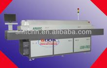 Rifusione forno di saldatura/smtsoldering ar600c/calore zone dodici/controllo pc rifusione forno macchina di saldatura