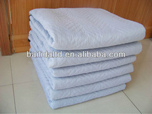 Heavy duty woven fabric moving blanket