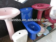 china chaozhou ceramic color sanitaryware manufacturer