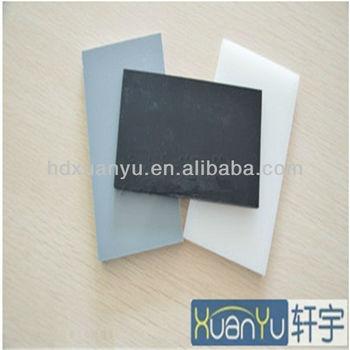 good quality rigid pvc sheet black