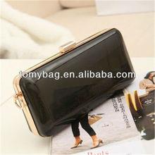 2015 china manufacturer evening bags rose black