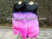 2013 de danza del vientre abanico seda velo, danza del vientre abanico seda velo, danza del vientre 100% velo de seda ventilador