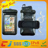 Convenient design waterproof case for samsung galaxy s2 with neck strap/armband/earphone