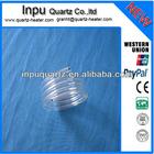 spring quartz glass tube for plastic forming Machine heater
