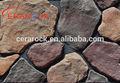 colorido decorativo desordered projeto cultura parede de pedra design