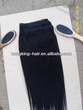 Brazilian remy hair extensions virgin brazilian hair clip extension china factory
