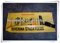 Polipropileno tejido de escudete bolsas de alimentación, de polipropileno de rafia, venta al por mayor fabricante de bolsas en wenzhou
