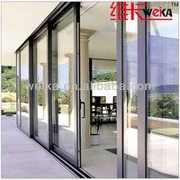 double glazed new aluminum cheap sliding doors