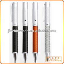 Carbon fiber ball pen promotional carbon fiber pen set