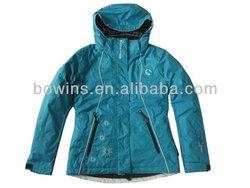Ladies' Ski jacket with hood,outdoor wear