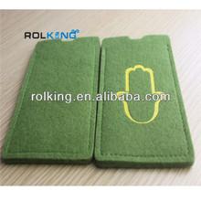 new design felt phone pouch