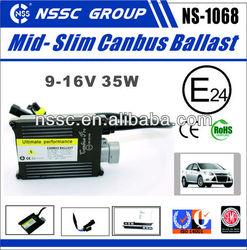9-16V 35w xenon hb4 light moto hid ballast