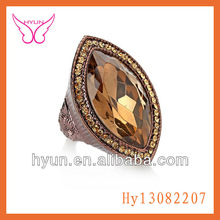 PERSONALITY DIAMOND RING FOR MEN DIAMOND GOLD RING ALLOY DIAMOND RINGS MADE IN CHINA