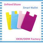 3M sticker silicone smart wallet purse,silicon back phone purse,silicon smart wallet